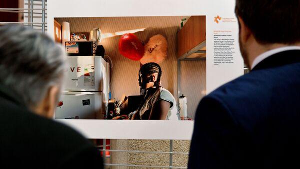 Выставка конкурса им. А. Стенина в Страсбурге - Sputnik Латвия
