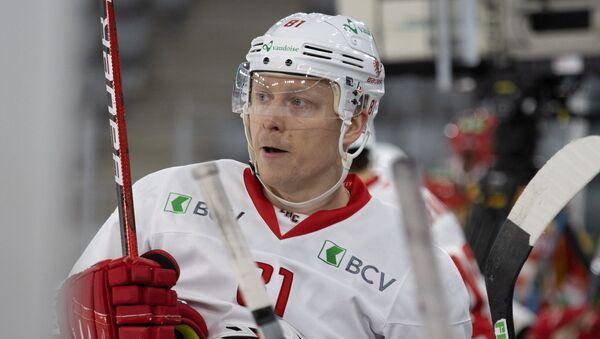 Нападающий клуба высшей швейцарской лиги Лозанна Роналдс Кениньш - Sputnik Латвия