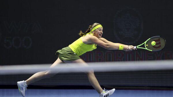 Елена Остапенко на турнире St.Petersburg Ladies Trophy - Sputnik Латвия