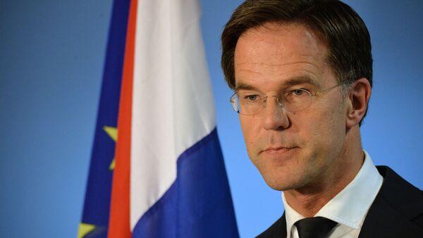 Премьер-министр Нидерландов Марк Рютте  - Sputnik Латвия