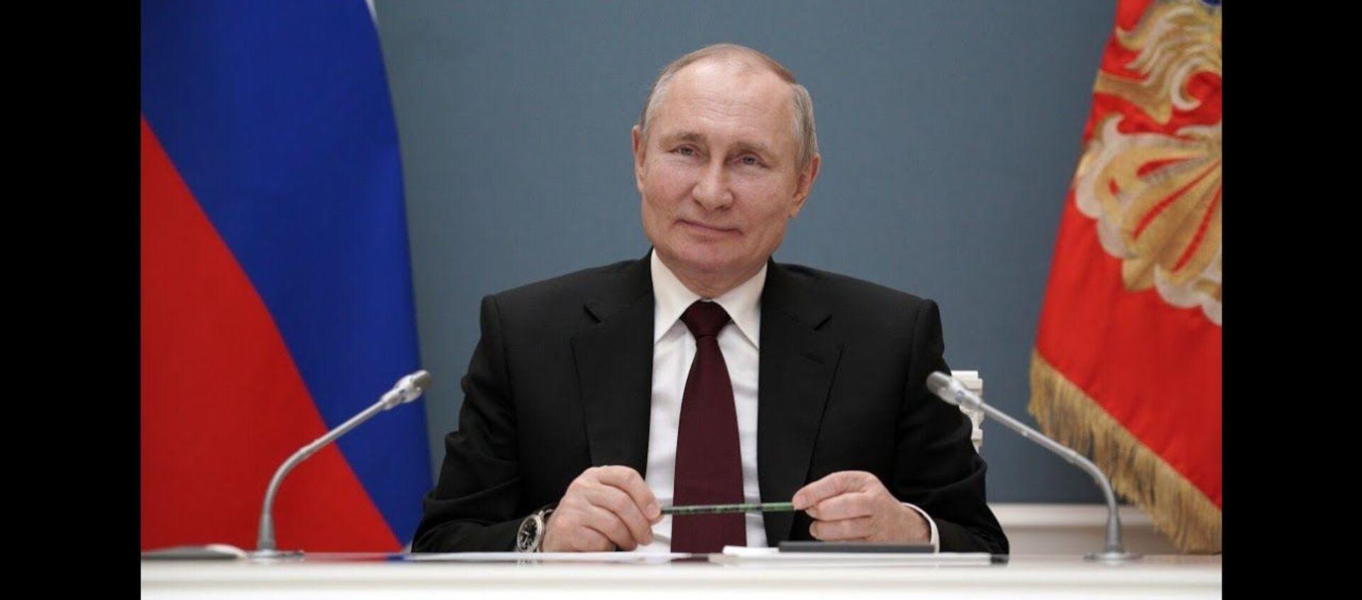 Единая, большая сила: мощнейшая речь Путина к семилетию воссоединения Крыма с Россией - Sputnik Латвия, 1920, 19.03.2021