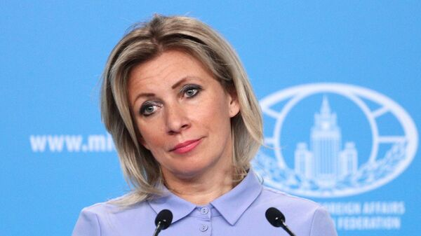 Официальный представитель Министерства иностранных дел России Мария Захарова - Sputnik Latvija
