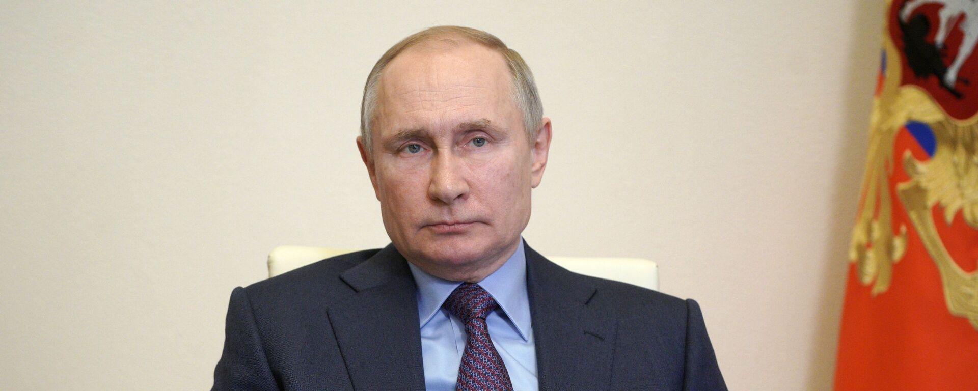 Президент РФ Владимир Путин - Sputnik Latvija, 1920, 28.04.2021
