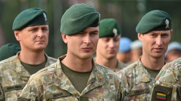 Военнослужащие армии Литвы - Sputnik Латвия