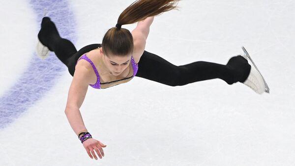 Фигуристка Алина Урушадзе - Sputnik Латвия