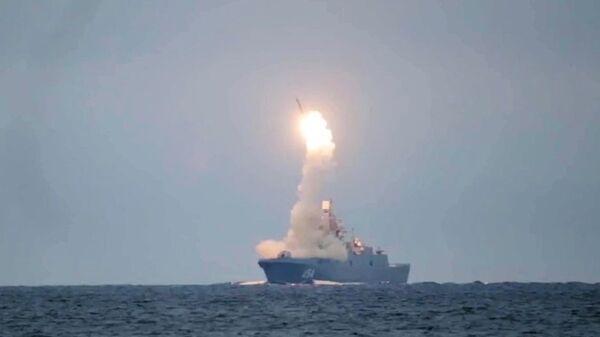 Испытание гиперзвуковой ракеты Циркон - Sputnik Latvija