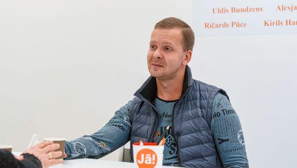 Латвийский политик Алексей Росликов - Sputnik Латвия