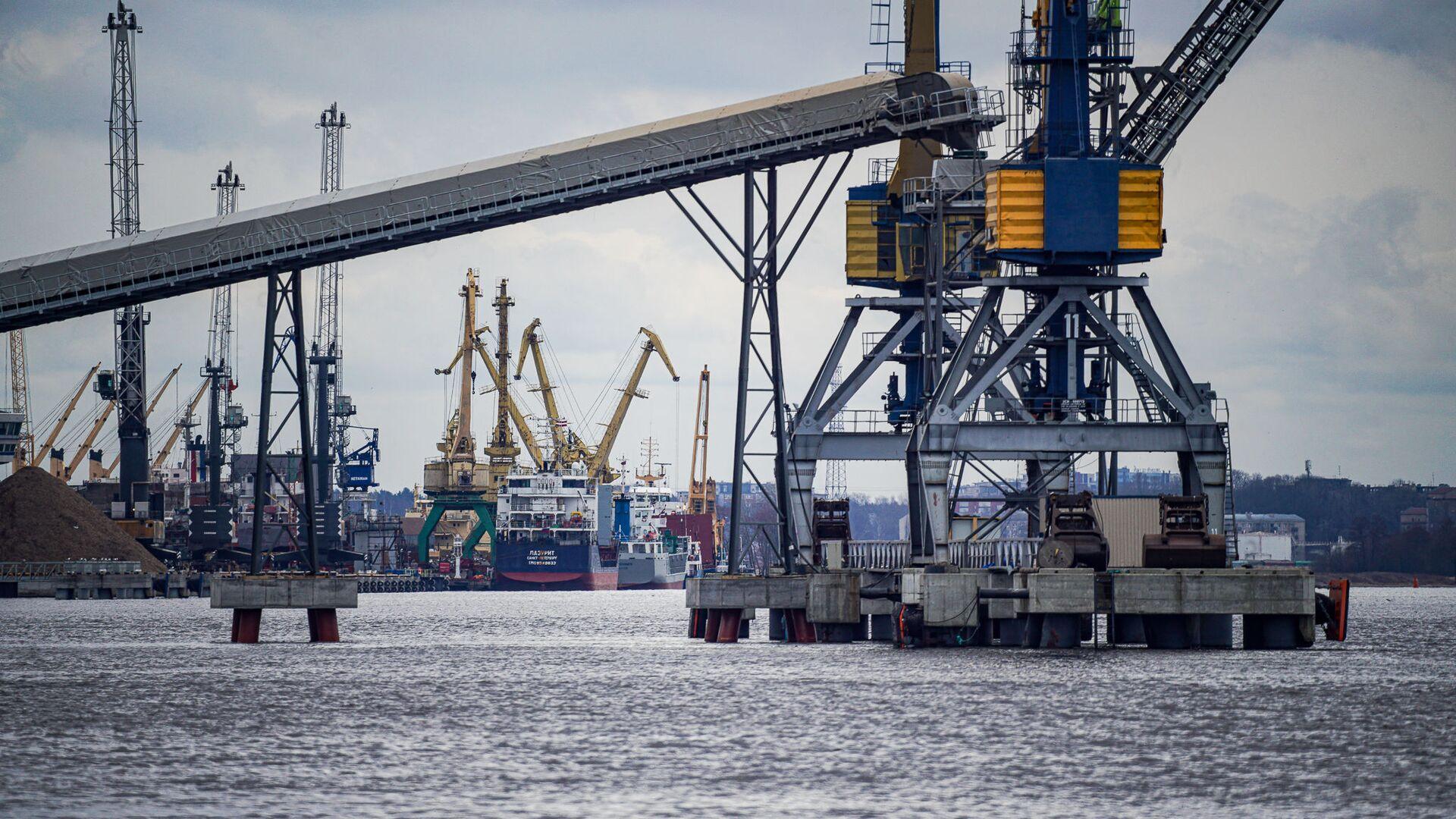 Рижский порт - Sputnik Latvija, 1920, 07.05.2021