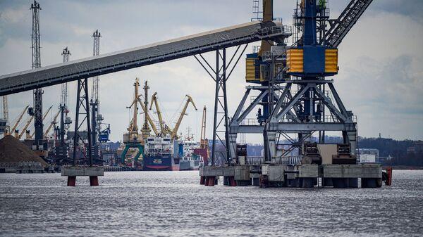 Рижский порт - Sputnik Latvija