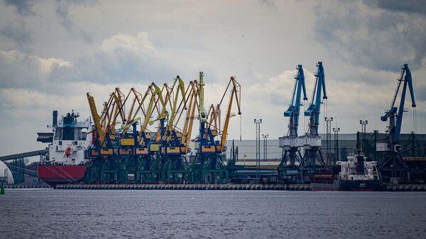 Рижский порт - Sputnik Латвия