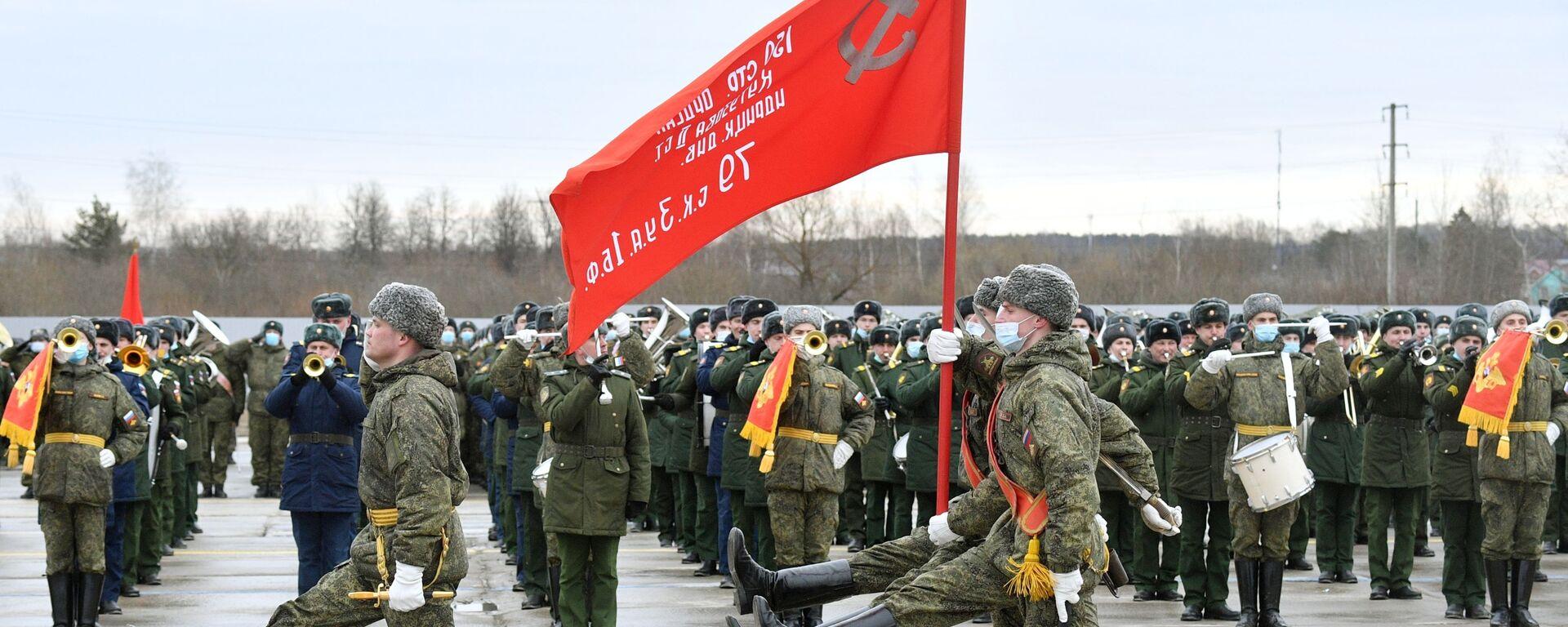 Репетиция парада Победы в Алабино - Sputnik Латвия, 1920, 27.04.2021