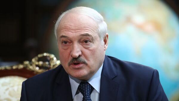 Президент Беларуси Александр Лукашенко - Sputnik Latvija