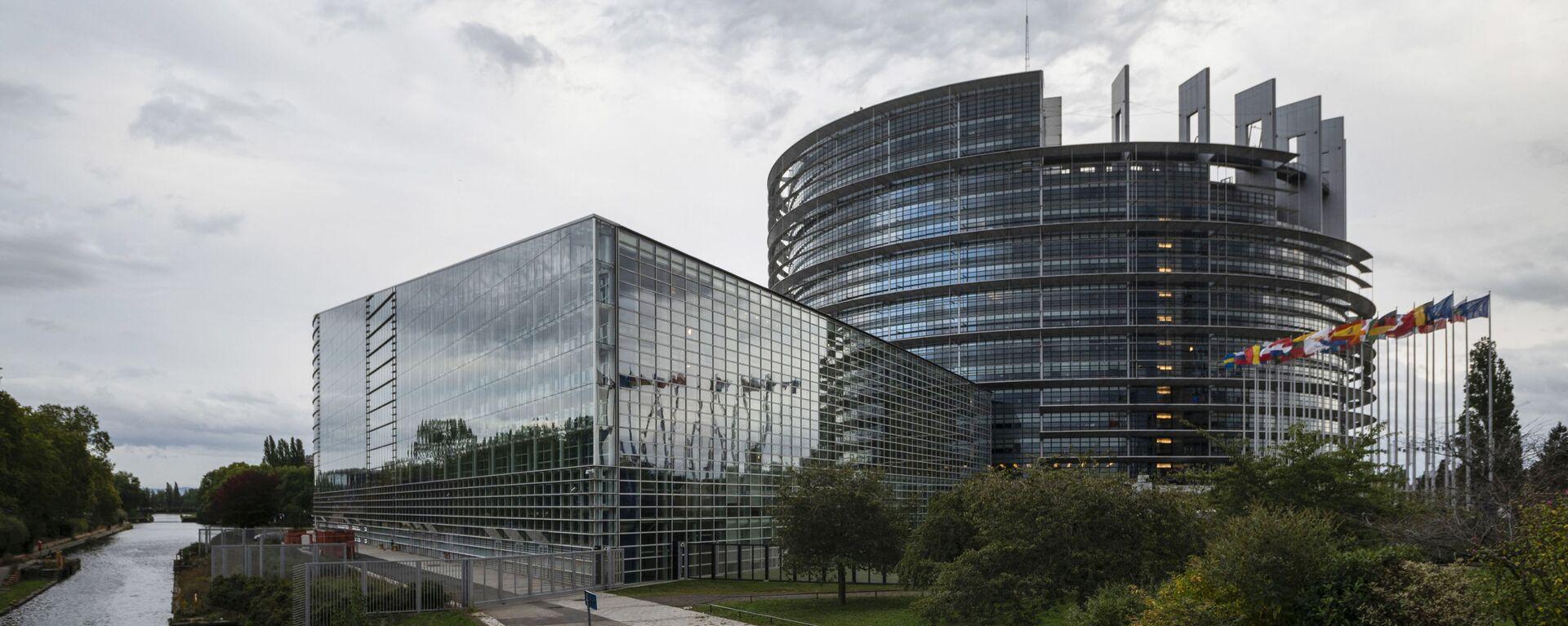 Eiropas Parlamenta ēka - Sputnik Latvija, 1920, 22.06.2021