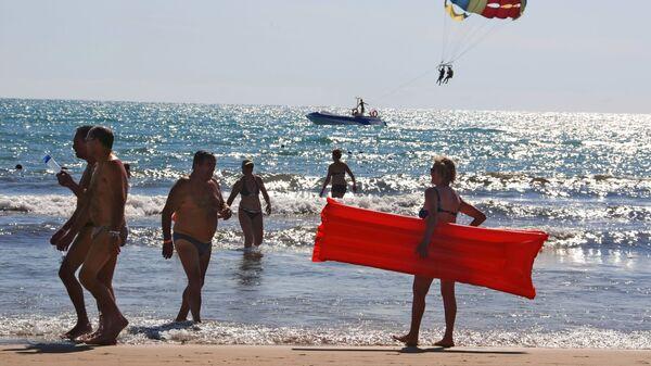 Пляжный отдых в Турции - Sputnik Latvija
