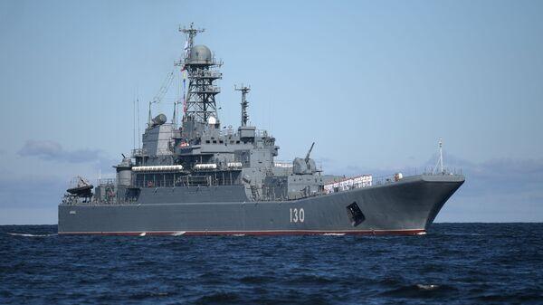 Большой десантный корабль Королёв - Sputnik Latvija