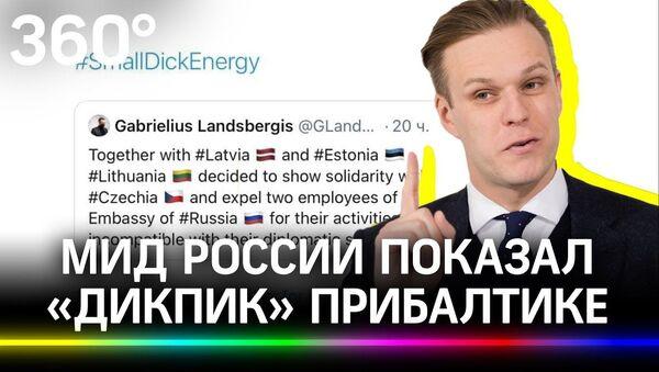 МИД России показал дикпик Прибалтике - Sputnik Latvija