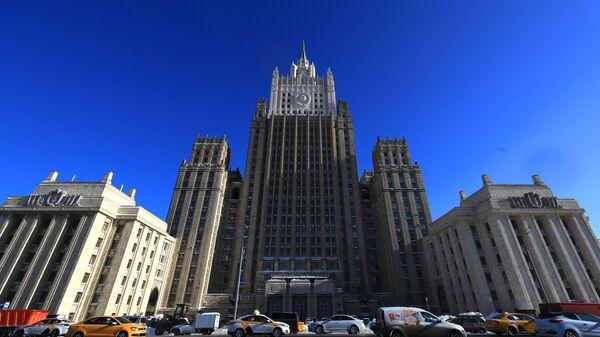 Здание Министерства иностранных дел РФ в Москве, архивное фото - Sputnik Latvija