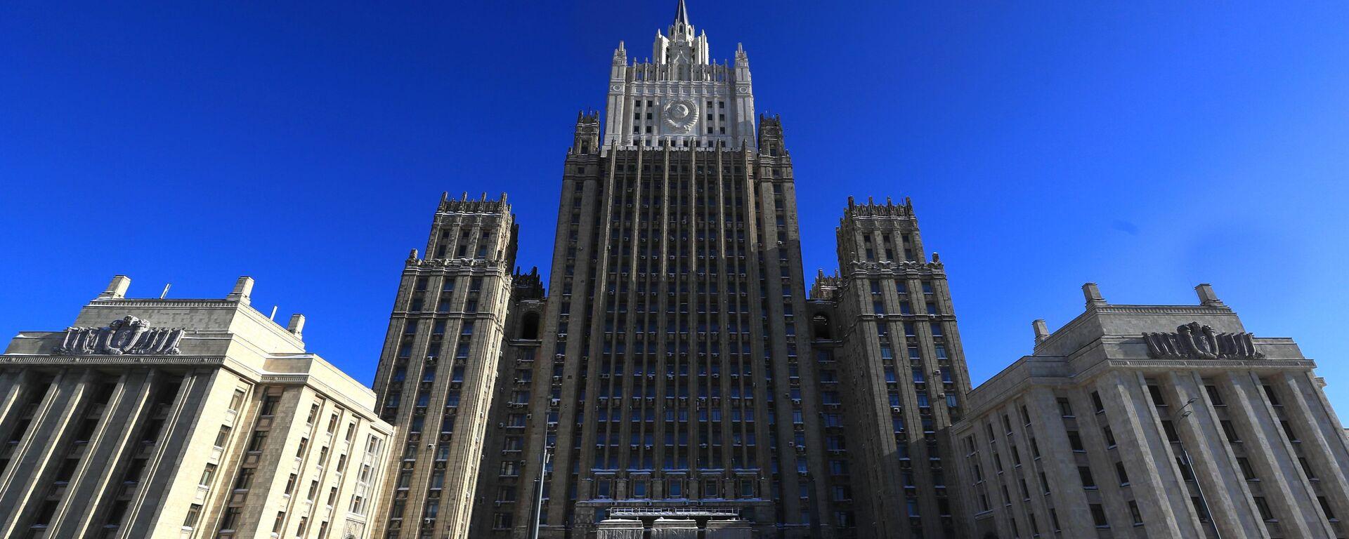 Здание Министерства иностранных дел РФ в Москве, архивное фото - Sputnik Латвия, 1920, 07.05.2021