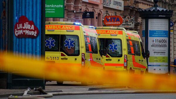 Машины Службы неотложной медицинской помощи - Sputnik Latvija