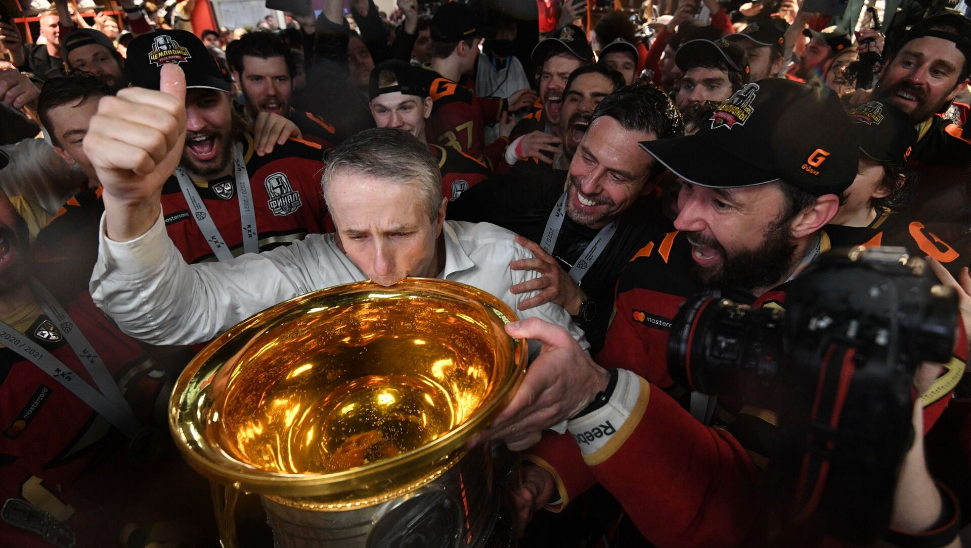 ХК Авангард - победитель Кубка Гагарина - 2021 - Sputnik Латвия, 1920, 29.04.2021