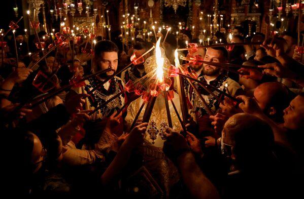 Пасхальное богослужение в Северной Македонии  - Sputnik Латвия