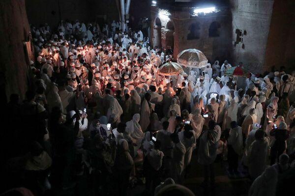 Празднование Пасхи в Эфиопии  - Sputnik Латвия