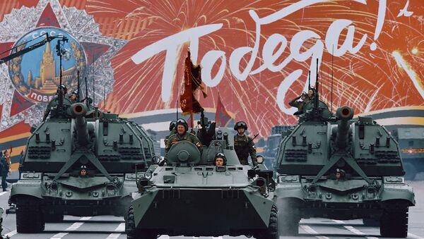 Генеральная репетиция парада Победы: как это было - Sputnik Latvija