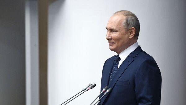 27 апреля 2021. Президент РФ Владимир Путин - Sputnik Latvija