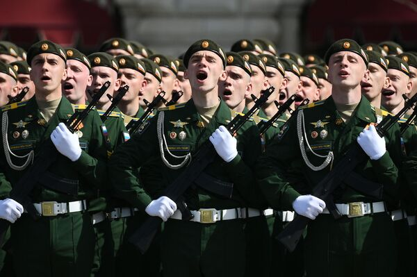 Parādes vienību karavīri - Sputnik Latvija