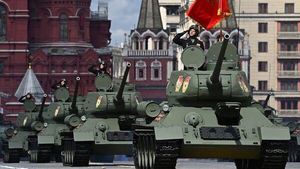 Парад Победы в Москве. Прямая трансляция - Sputnik Latvija