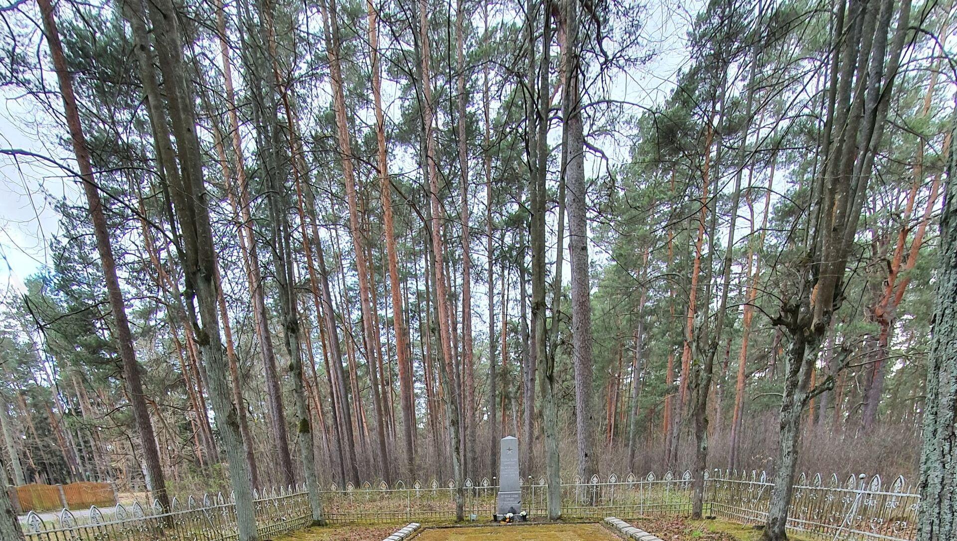 Братское кладбище в Предайне - Sputnik Latvija, 1920, 16.05.2021