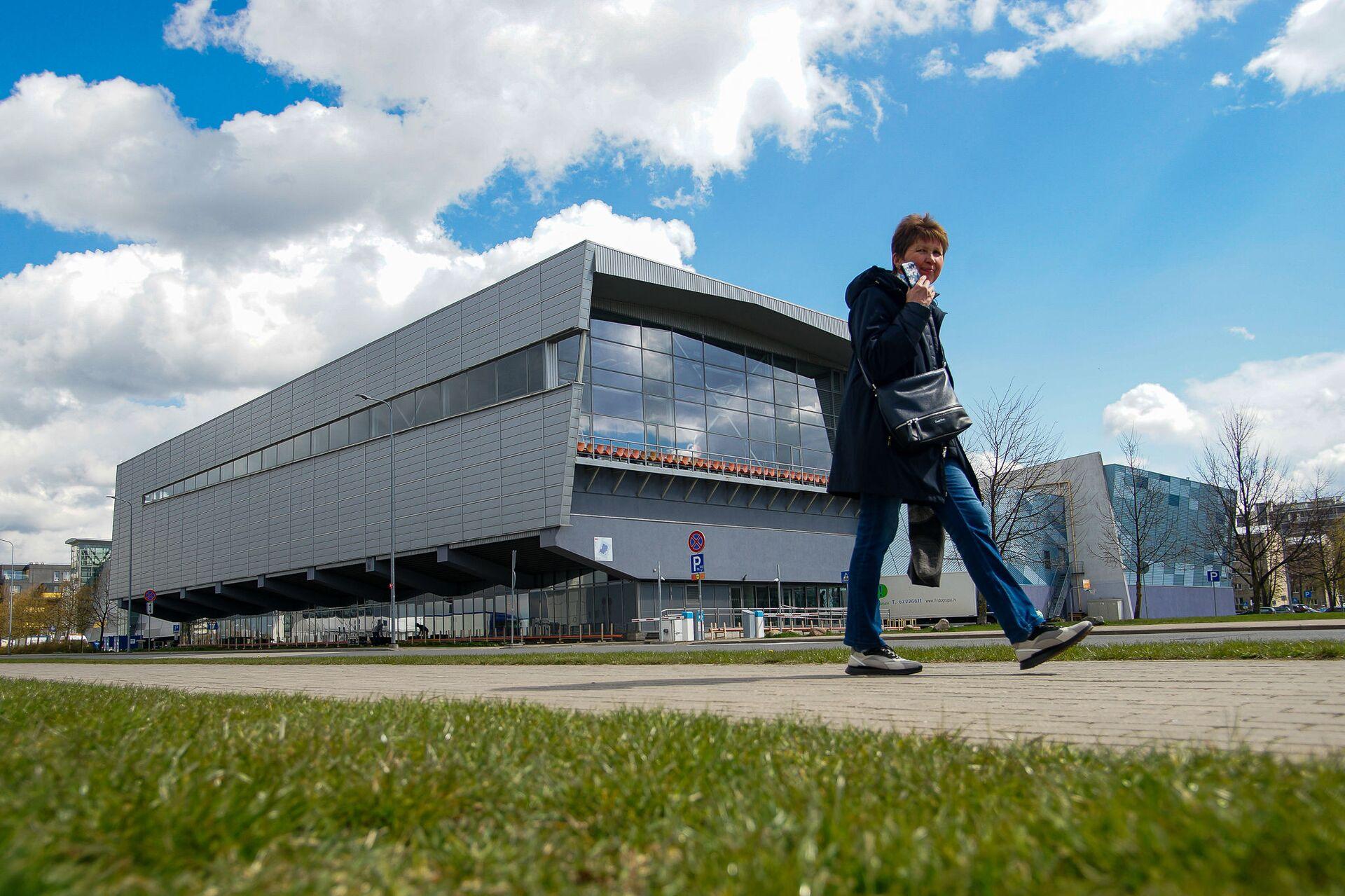Олимпийский центр в Риге готовится принять матчи чемпионата мира по хоккею - Sputnik Латвия, 1920, 01.06.2021