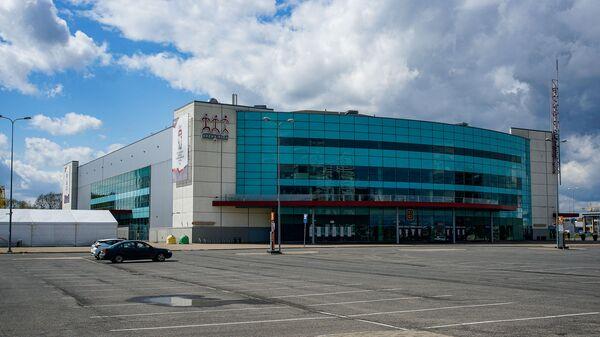 Многофункциональный спортивно-концертный комплекс Арена Рига готовится принять матчи чемпионата мира по хоккею - Sputnik Латвия
