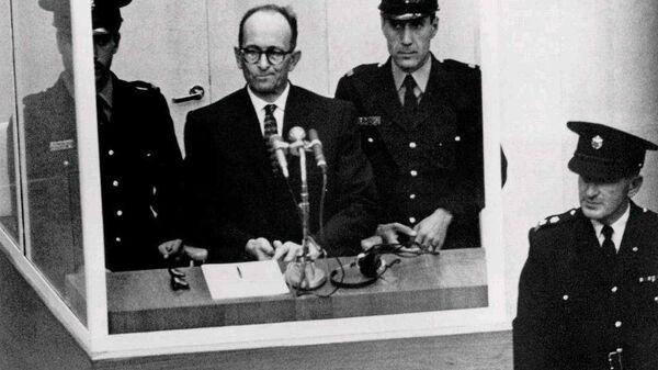 Суд над Адольфом Эйхманом в Израиле. 1961 год - Sputnik Latvija
