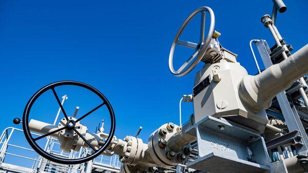 Газораспределительный центр магистрального газопровода Северный поток - 2 в Германии - Sputnik Latvija