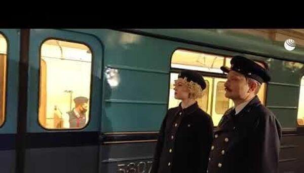 У поездов тоже бывает парад! Московскому метрополитену исполнилось 86 лет - Sputnik Латвия