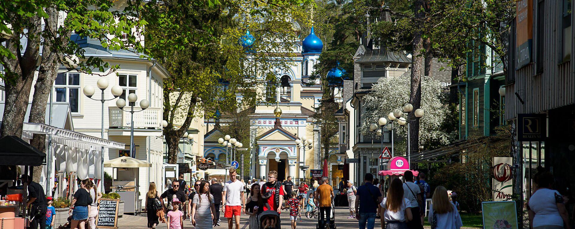 Улица Йомас в Юрмале - Sputnik Латвия, 1920, 19.05.2021