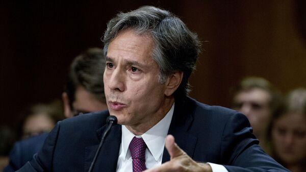 Энтони Блинкен — государственный секретарь США  - Sputnik Латвия