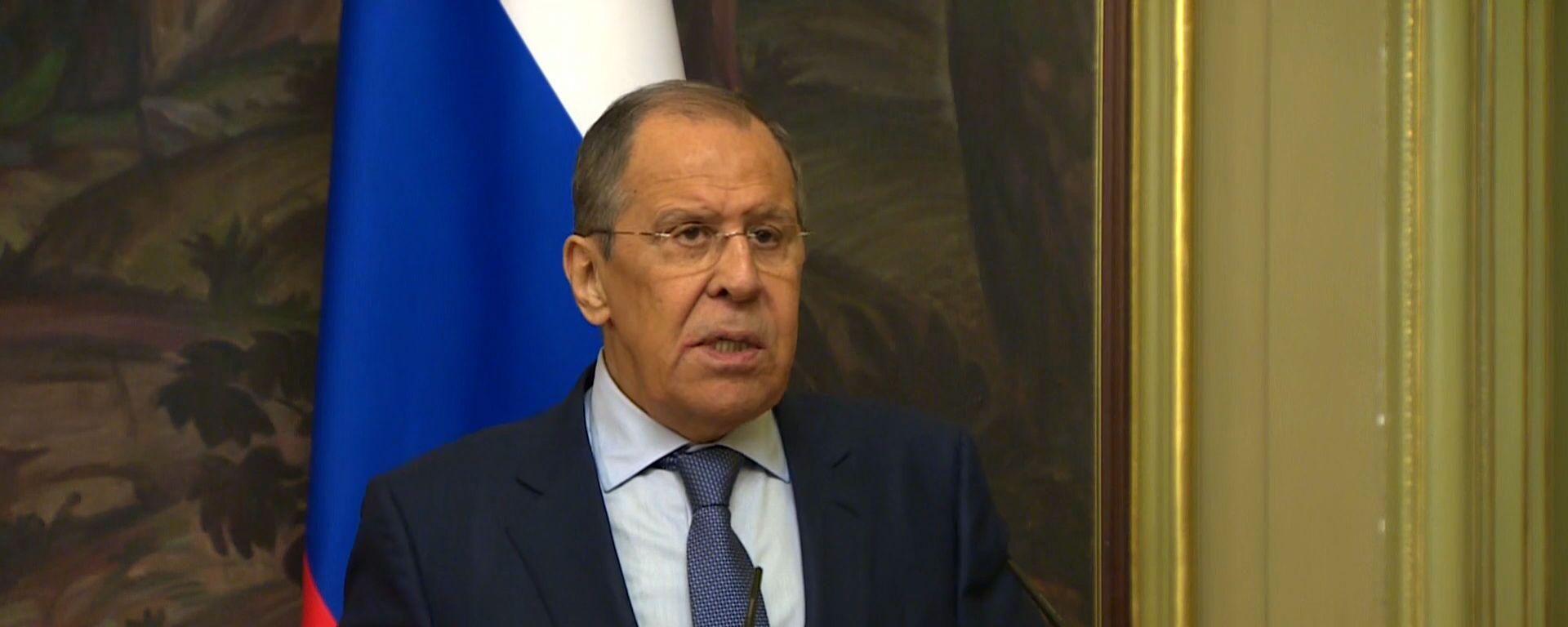 Lavrovs nosaucis svarīgu nosacījumu dialoga atsākšanai ar Eiropas Savienību - Sputnik Latvija, 1920, 01.06.2021