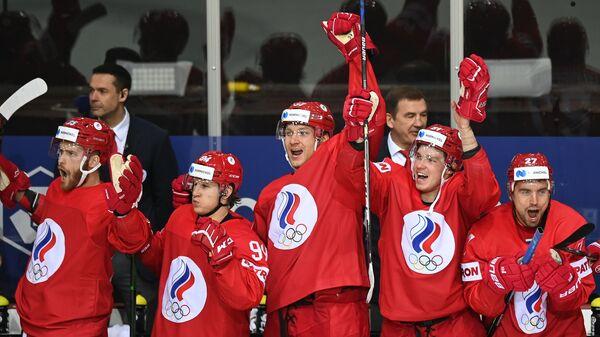 Хоккей. Чемпионат мира. Матч Россия - Швеция - Sputnik Латвия
