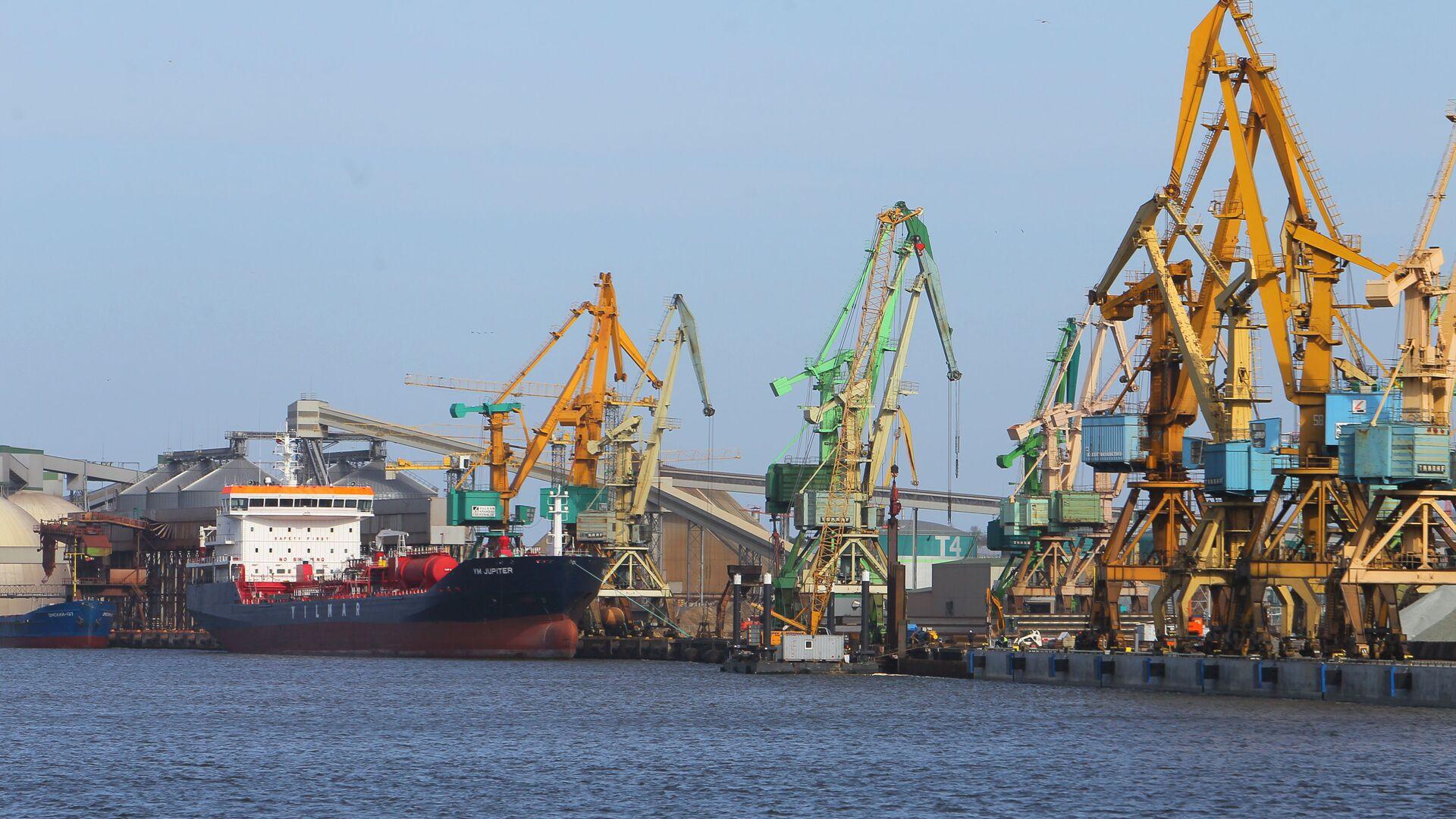 Клайпедский морской порт - Sputnik Латвия, 1920, 01.06.2021