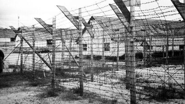 Финский концентрационный лагерь в городе Медвежьегорске - Sputnik Latvija
