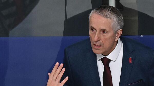 Главный тренер сборной Латвии Боб Хартли - Sputnik Латвия