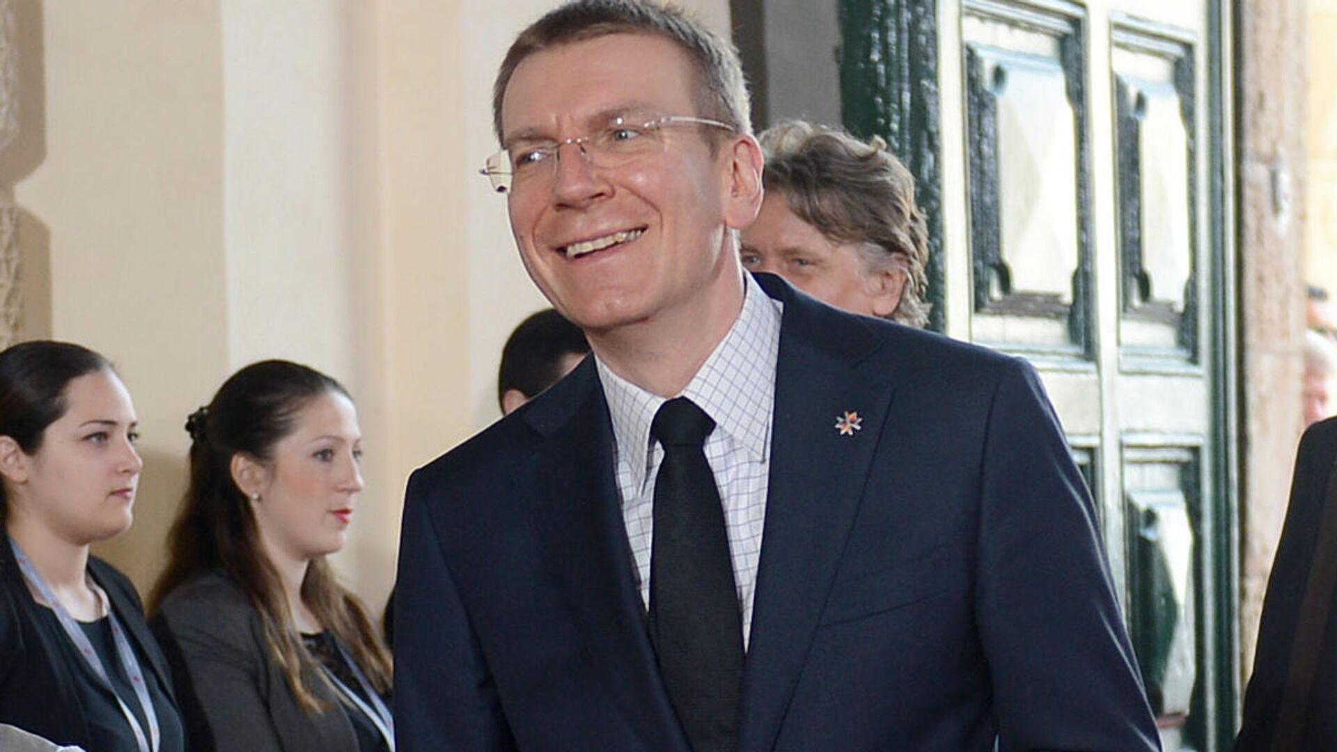 Latvijas ārlietu ministrs Edgars Rinkēvičs - Sputnik Latvija, 1920, 21.08.2021