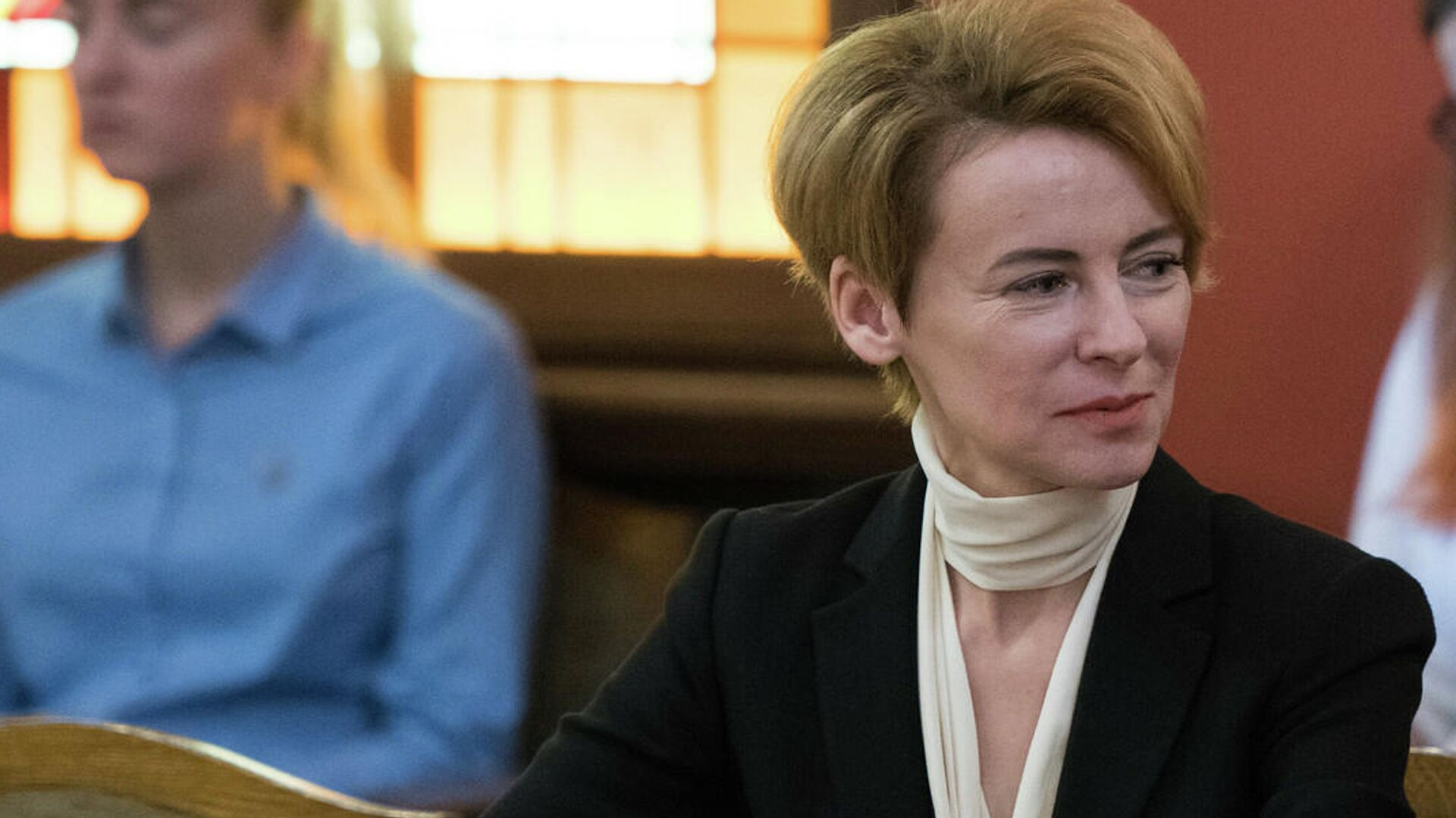 Министр внутренних дел Латвии Мария Голубева - Sputnik Латвия, 1920, 30.09.2021