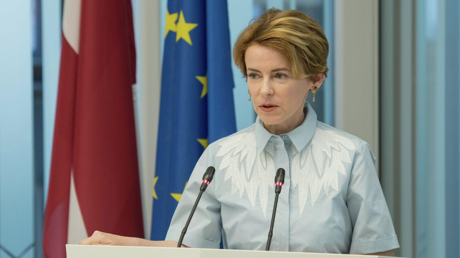 Министр внутренних дел Латвии Мария Голубева - Sputnik Латвия, 1920, 28.07.2021