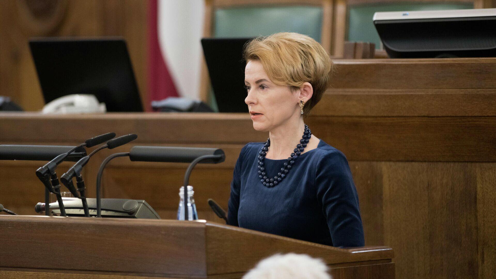 Министр внутренних дел Латвии Мария Голубева - Sputnik Латвия, 1920, 08.07.2021