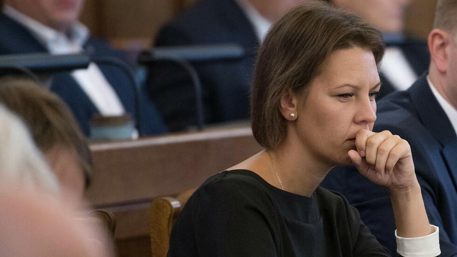 Анита Муйжниеце — министр образования Латвии - Sputnik Латвия, 1920, 04.06.2021