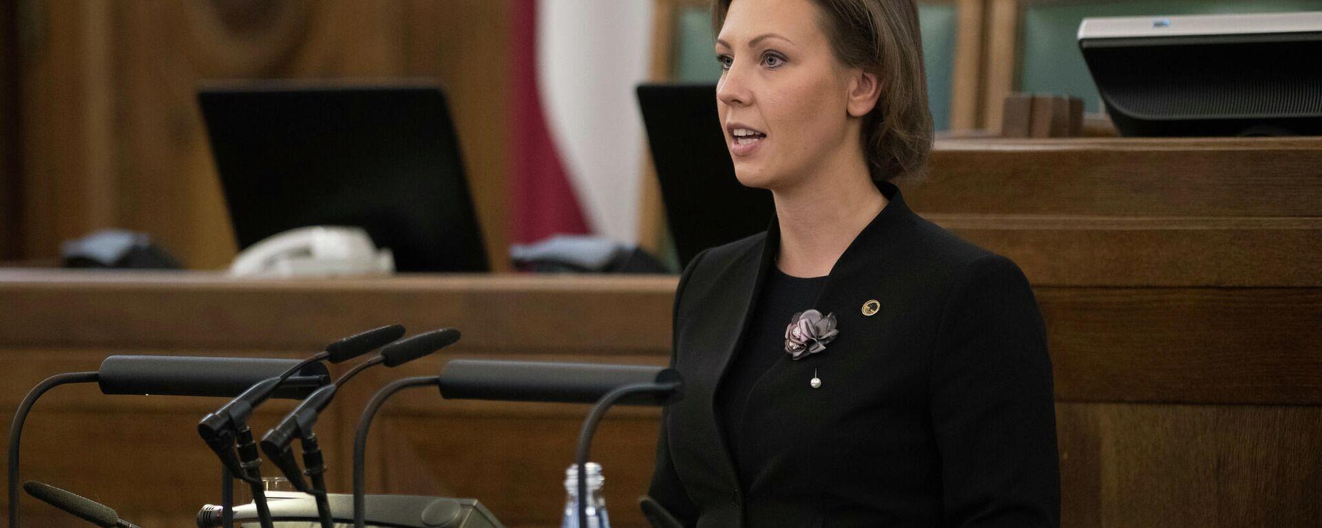 Анита Муйжниеце — министр образования Латвии - Sputnik Латвия, 1920, 03.06.2021