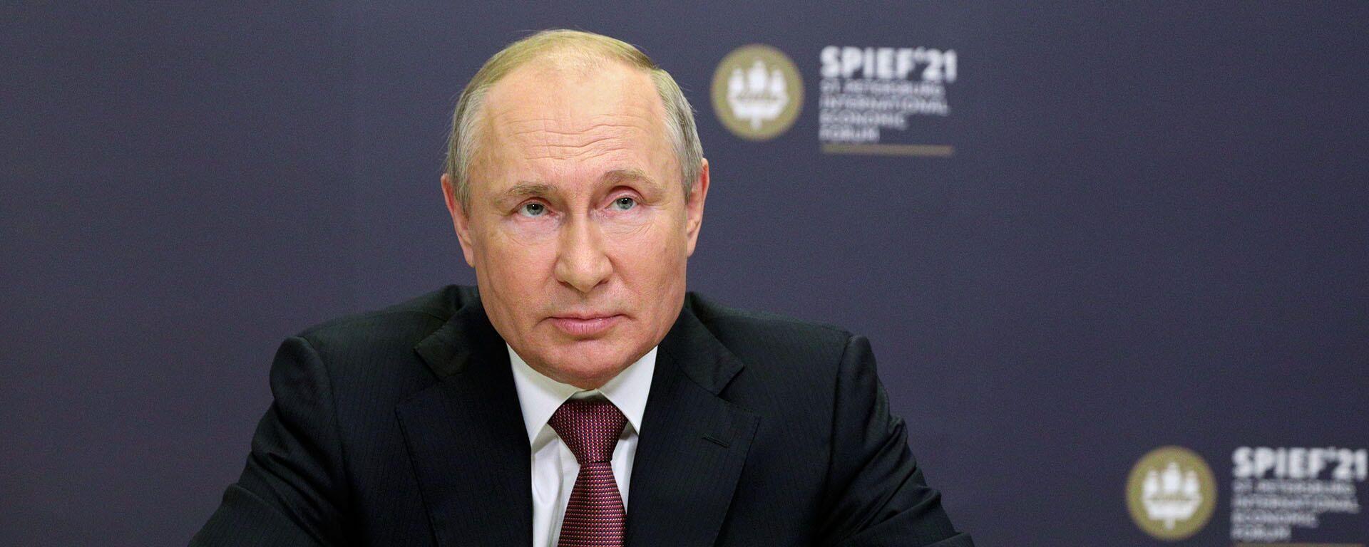 Путин заступился за российских журналистов за рубежом - Sputnik Latvija, 1920, 09.06.2021